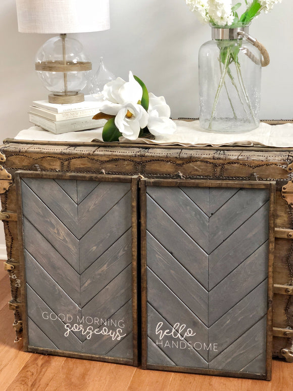 Rustic Grey & Barnwood Trim | Hello Gorgeous Set