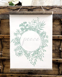 Peace Wooden Scroll
