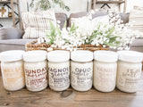 *NEW* Candle Subscription of the 6 Signature Posture Decor Scents