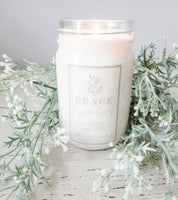 Peace | Lavender & Chamomile Soy Candle