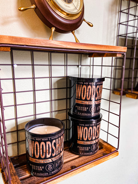 Woodshop | White Birch & Amber