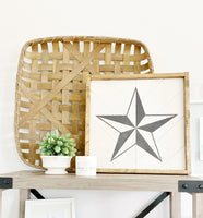 Farmhouse Style Barn Stars