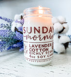 Sunday Morning | Lavender & Cotton