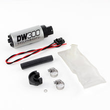 Load image into Gallery viewer, DeatschWerks 94+ Nissan 240sx/Silvia S14/S15 DW300 340 LPH In-Tank Fuel Pump w/ Install Kit