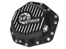 Load image into Gallery viewer, aFe Power Pro Ser Rear Diff Cover Black w/Mach Fins 2017 Ford Diesel Trucks V8-6.7L(td) Dana M275-14