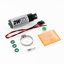Load image into Gallery viewer, DeatschWerks Ford Focus MK2 RS DW65C 265lph Compact In-Tank Fuel Pump w/Install Ki