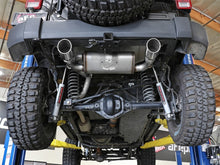 Load image into Gallery viewer, aFe Rebel Series 2.5in 409 SS Axle-Back Exhaust w/Polished Tips 07+ Jeep Wrangler (JK) V6 3.6L/3.8L
