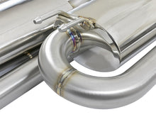 Load image into Gallery viewer, aFe Takeda 3in 304 SS Cat-Back Exhaust System w/Polished Tips 2017+ Honda Civic Si (4dr) I4 1.5L (t)