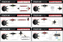 Load image into Gallery viewer, Aeromotive Phantom stealth fuel pump retrofit system - Hot Rod fuel hose by One Guy Garage