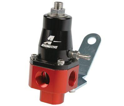 Aeromotive universal (carb & efi) bypass fuel pressure regulator - Hot Rod fuel hose by One Guy Garage