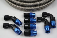 Load image into Gallery viewer, AN-10 Stainless Braided Hose & 8 10AN fittings bundle - Hot Rod fuel hose by One Guy Garage