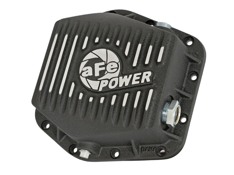 aFe Power Rear Differential Cover (Machined Black) 15-17 GM Colorado/Canyon 12 Bolt Axles