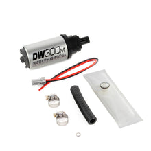 Load image into Gallery viewer, DeatschWerks 340 LPH Ford In-Tank Fuel Pump DW300M Series w/ 97-04 F-150/F-250 V6/V8 Install Kit