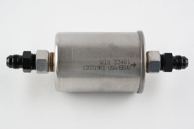 Factory style Inline fuel filter w/ AN6 fittings - Hot Rod fuel hose by One Guy Garage