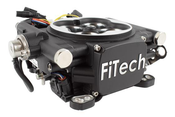 FiTech Go EFI 4 600 HP EFI Conversion Kit - Self Tuning - Hot Rod fuel hose by One Guy Garage