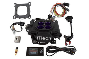 FiTech Meanstreet 800HP EFI conversion kit - Hot Rod fuel hose by One Guy Garage