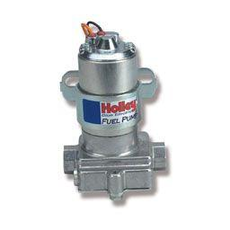 Holley BLUE electric performance fuel pump 12-812-1 - Hot Rod fuel hose by One Guy Garage