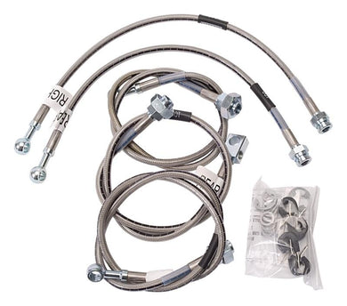Russell Performance 01-06 GM Silverado/Sierra HD (All) (Also fits Rancho) Brake Line Kit - Hot Rod fuel hose by One Guy Garage