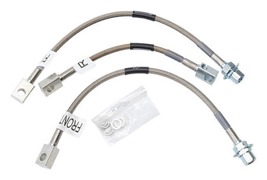 Russell Performance 94-95 Ford Mustang GT (Front & Rear Center Hose) Brake Line Kit - Hot Rod fuel hose by One Guy Garage