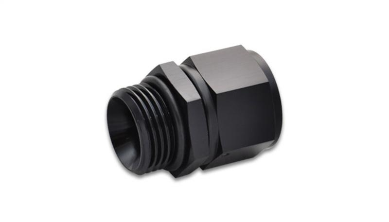 Vibrant 10AN Female to 8AN Male Straight Cut Adapter w/ O-Ring - Hot Rod fuel hose by One Guy Garage
