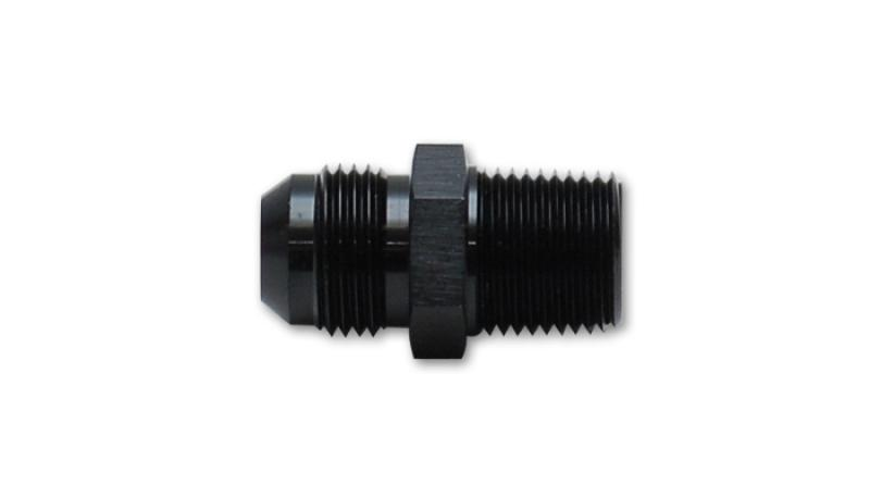 Vibrant 10an To 1 2in Npt Straight Adapter Fitting Aluminum