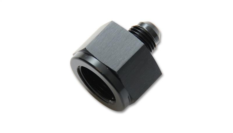 Vibrant -16AN Female to -12AN Male Reducer Adapter Fitting - Hot Rod fuel hose by One Guy Garage