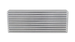 Vibrant Air-to-Air Intercooler Core Only (core size: 18in W x 6.5in H x 3.25in thick) - Hot Rod fuel hose by One Guy Garage