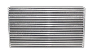 Vibrant Air-to-Air Intercooler Core Only (core size: 22in W x 11.8in H x 4.5in thick) - Hot Rod fuel hose by One Guy Garage