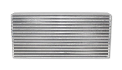 Vibrant Air-to-Air Intercooler Core Only (core size: 22in W x 9in H x 3.25in thick) - Hot Rod fuel hose by One Guy Garage