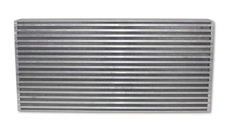 Vibrant Air-to-Air Intercooler Core Only (core size: 25in W x 12in H x 3.5in thick) - Hot Rod fuel hose by One Guy Garage