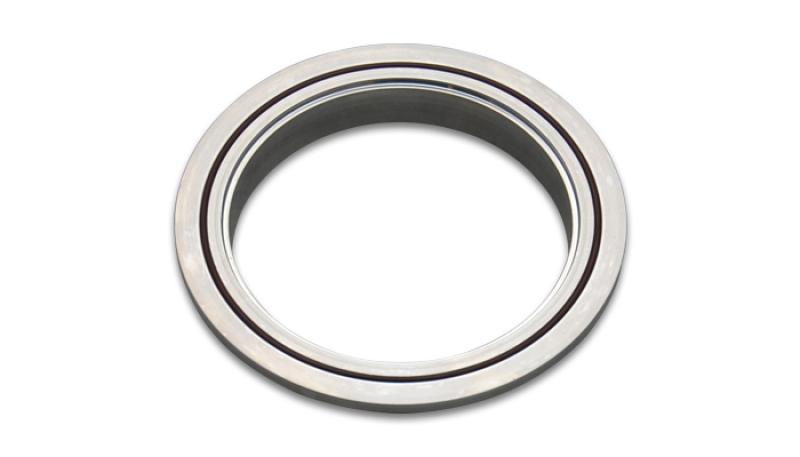 Vibrant Aluminum V-Band Flange for 3.5in OD Tubing - Female - Hot Rod fuel hose by One Guy Garage