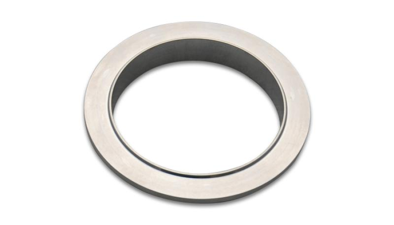 Vibrant Aluminum V-Band Flange for 4in OD Tubing - Male - Hot Rod fuel hose by One Guy Garage