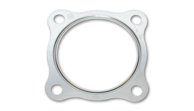 Vibrant Metal Gasket GT series/T3 Turbo Discharge Flange w/ 2.5in in ID Matches Flange #1439 #14390 - Hot Rod fuel hose by One Guy Garage