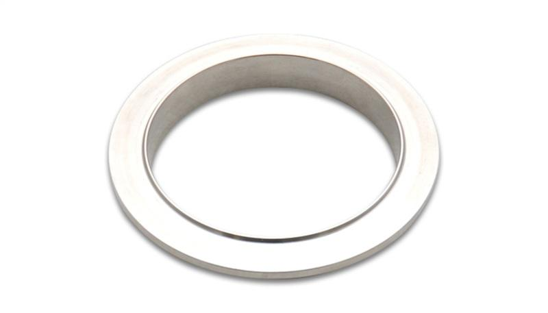 Vibrant Stainless Steel V-Band Flange for 4in O.D. Tubing - Male - Hot Rod fuel hose by One Guy Garage