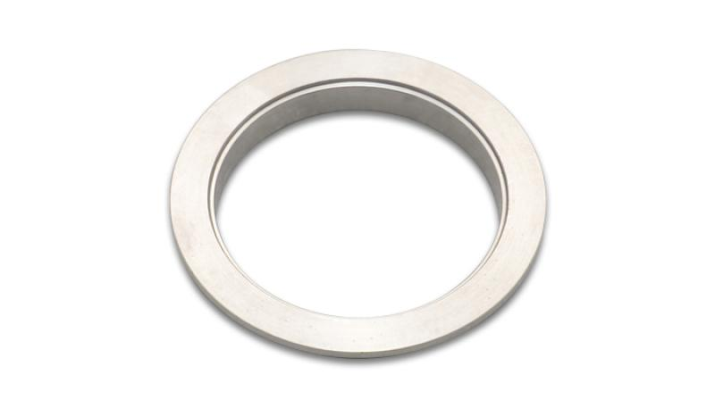 Vibrant Stainless Steel V-Band Flange for 5in O.D. Tubing - Female - Hot Rod fuel hose by One Guy Garage