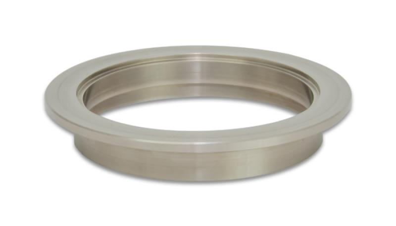 Vibrant Titanium V-Band Flange for 3.5in OD Tubing - Female - Hot Rod fuel hose by One Guy Garage