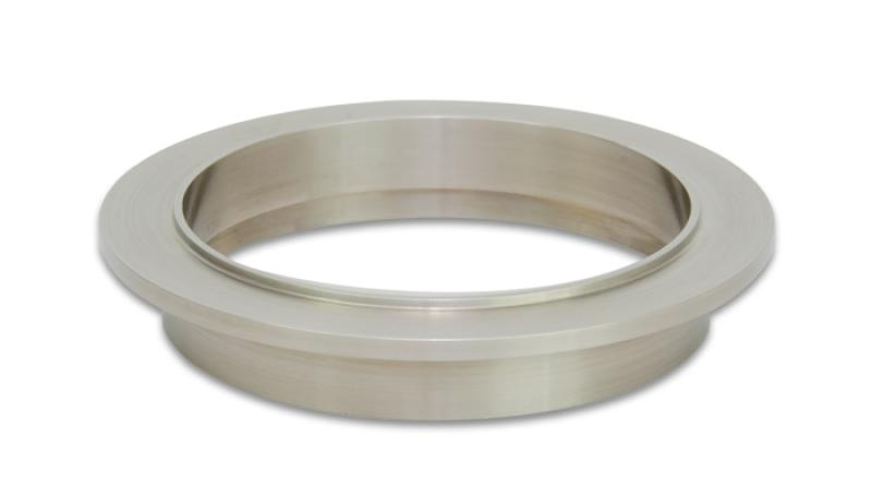 Vibrant Titanium V-Band Flange for 3in OD Tubing - Male - Hot Rod fuel hose by One Guy Garage