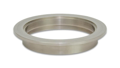 Vibrant Titanium V-Band Flange for 4in OD Tubing - Female - Hot Rod fuel hose by One Guy Garage