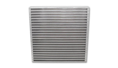 Vibrant Universal Oil Cooler Core 12in x 12in x 2in - Hot Rod fuel hose by One Guy Garage