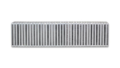 Vibrant Vertical Flow Intercooler 27in. W x 6in. H x 4.5in. Thick - Hot Rod fuel hose by One Guy Garage