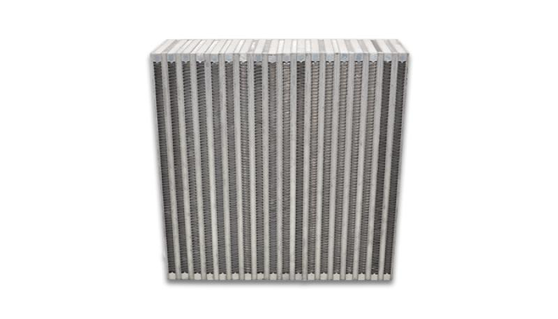 Vibrant Vertical Flow Intercooler Core 12in. W x 12in. H x 3.5in. Thick - Hot Rod fuel hose by One Guy Garage