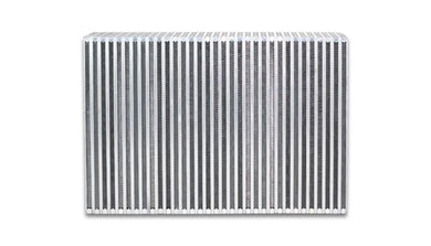 Vibrant Vertical Flow Intercooler Core 12in. W x 8in. H x 3.5in. Thick - Hot Rod fuel hose by One Guy Garage