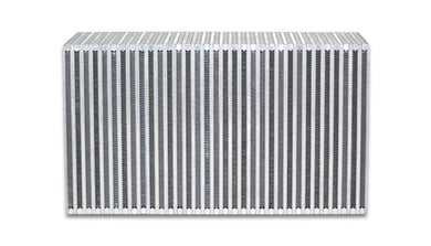 Vibrant Vertical Flow Intercooler Core 18in. W x 12in. H x 6in. Thick - Hot Rod fuel hose by One Guy Garage