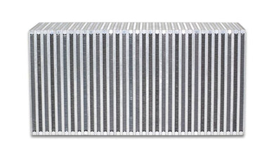 Vibrant Vertical Flow Intercooler Core 22in. W x 11in. H x 6in. Thick - Hot Rod fuel hose by One Guy Garage