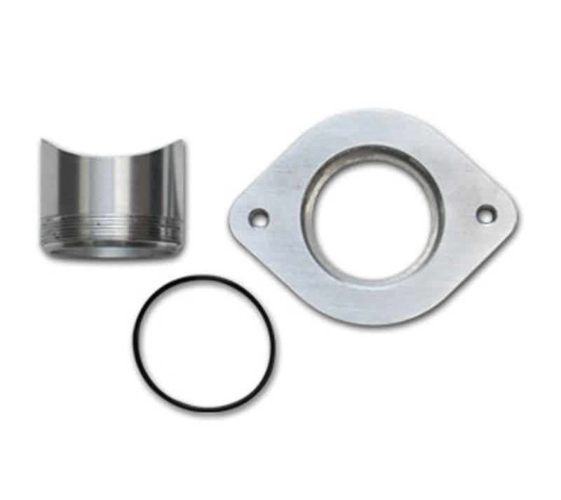 Vibrant Weld Flange Kit for GreddyS/R/RS style Blow Off Valves AL Weld Fitting AL Thread On Flange - Hot Rod fuel hose by One Guy Garage