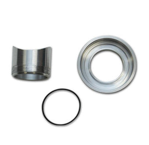 Vibrant Weld Flange Kit HKS SSQ style Blow Off Valves Mild Steel Weld Fitting/AL Thread On Flange - Hot Rod fuel hose by One Guy Garage