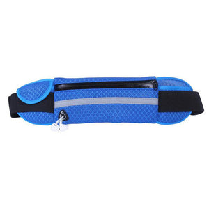 Running Waist Bag Sport Packs For Music With Headset Hole-Fits Smartphones Sports Water Bags Fitness Belt Chest Pouch
