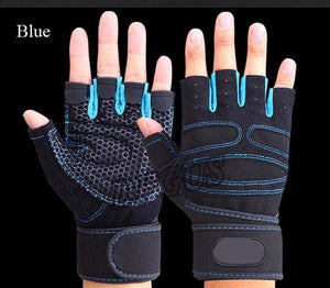 Fitness Weight Lifting Gloves Power Luvas Fitness Academia Anti-skid Guantes Protective Crossfit Sports gloves gym guantes