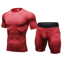 Men's Compression T Shirt and Shorts