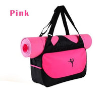Multi-functional Waterproof Nylon Yoga Training Cross body Shoulder Bag